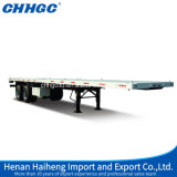 편평한 Bed Container 또는 Bulk Cement Transport Trailer