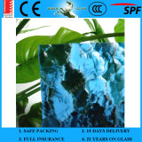 3-8mm ISO9001 & En12150 Colored Clear Pattern Patterned Glass