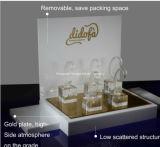 Présentoir acrylique blanc de montre de la qualité 5mm