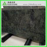 Luxuriöse Marmorplatten Halcyon Pileata grüner blauer Marmorierungmarmor