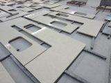 Preço de fábrica artificial da parte superior da vaidade de quartzo da qualidade excelente