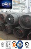 840L, bombola per gas media della saldatura di acciaio di 1000L Presure per Ethamine, cloro, gas Refrigerant