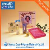 Супер ясный прозрачный лист любимчика для косметический упаковывать