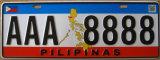 Pilipinas 자동차 면허증 격판덮개/번호판/차량 격판덮개