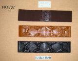 Ceinture, ceinture élastique, ceinture de mode (FK1737)