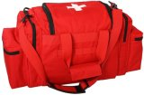 Le sac médical Emergency de premiers soins rouges d'EMT caché portent le sac
