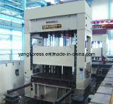 Prensa hidráulica recta de Yl34series para el dibujo del metal de hoja