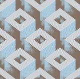 Modèle gravé en relief par PVC multi 3D de choix de couleurs d'usine de type classique professionnel de fabrication