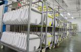 Tazón de fuente de tocador blanco cercano de la tranquilidad con Wrape sobre diseño cuadrado