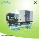 Double refroidisseur d'eau à vis de compresseur