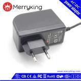 EU 24W stecken Firmenzeichen-Druck-Qualität Wechselstrom-Spannungs-Adapter ein