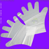 외과 Medical/Plastic/Polyethylene/Poly/CPE/HDPE/LDPE/PVC/Exam/Stretchable TPE Elastic/Veterinary/Examination Disposable Vinyl Gloves 의 Disposable PE Gloves