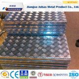 Feuille d'acier inoxydable/plaque gravées en relief (304 304L 316L 309S 310S)