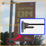Metal Street Light Pole Advertising Flag Base (BT-BS-026)