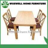 家具(W-DF-9026)を食事する固体カシ木