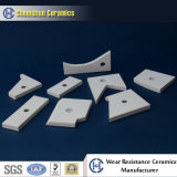 Feito na China High Wear Resistance Alumina Ceramic Weldable Tile Liner