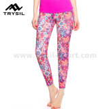Ladies Sport Wear Chaleco Sexy Compression Leggings Mujer Yoga Pantalones Running Ropa Fitness Wear Gimnasio Cómodo Ropa