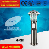 Luces solares del césped del alto brillo IP65 con el certificado del Ce