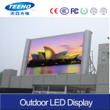 El panel de exhibición al aire libre a todo color de LED para el alquiler (P6-8S)