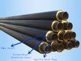 Aislante de la espuma de poliuretano del tubo de acero y chaqueta Pre-Aislados del HDPE