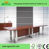 Het houten Hoogste Kantoormeubilair van het Staal van de Deklaag van het Poeder van het Bureau Desk/Table (Hx-5DE496)