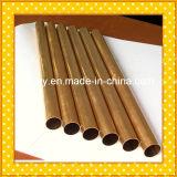 Tubo de cobre amarillo H62, H63, H65, H68, H70, H90, H96
