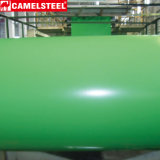 Pleines bobines galvanisées colorées plongées chaudes dures d'acier