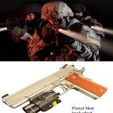 Torcia elettrica tattica di vista del laser di colore rosso combinata per la guida di Picatinny del tessitore di 20mm