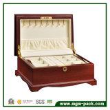 ヨーロッパの古典的な宝石類の木の収納箱