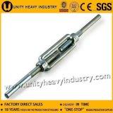 DIN 1480の可鍛性鉄の鋼鉄ターンバックル