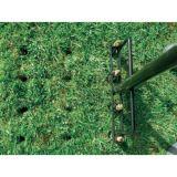 Напольная сверхмощная полая трава аэратора зубец для сада