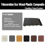 Revestimiento impermeable cómodo de la pared del exterior WPC de Eco