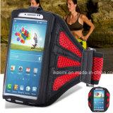 Il sacchetto del telefono mobile di sport, Armbang mette in mostra il sacchetto