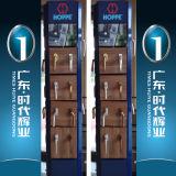 2016 جديد تصميم معدنة باب مع ألومنيوم إطار