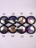 Sombra de ojo duradera del maquillaje de 3 colores mezclados