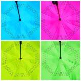 Зонтик 23 дюймов портативный Handsfree прямой обратный перевернутый (SU-0023I)