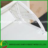나무로 되는 MFC 단화 저장 내각 2 서랍 신발 대 선반 단위 찬장