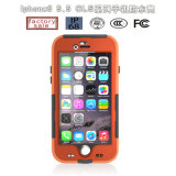 Cas antichoc imperméable à l'eau de téléphone cellulaire de Redpepper de prix usine pour l'iPhone 6/6s plus (RPCLS6P)