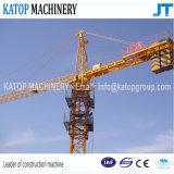 Populärer Turmkran des Export-Tc5516 für Aufbau-Maschinerie