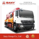 Tecnologia do controle do balanço da série de Sany Syg5271thb C8 do caminhão 38m da bomba concreta de Sany da bomba concreta Diesel pequena