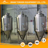 Tanque de fermentación de acero inoxidable de equipo de cerveza
