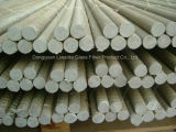 Tornillos sólidos de la cuerda de rosca de Compostie FRP de la fibra de vidrio, Rebar de la fibra de vidrio de FRP
