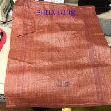 Sacchetti tessuti pp rosso scuro di 75*110cm Corea