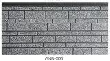 Paneles de aislamiento de espuma de poliuretano revestimiento de la pared exterior