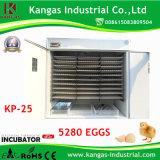 Incubateurs économiseurs d'énergie d'oeufs de poulet des avoirs 5280 à vendre Chine