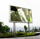 P10 Outdoor LED Billboard su Pillar a Show Moving Advertizing (4X3m)