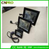La luz de inundación ULTRAVIOLETA al aire libre de 50W LED con a presión el aluminio de la fundición