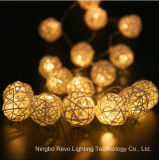 屋外クリスマスのための太陽藤の球の豆電球(RS1013)