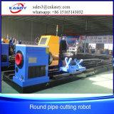 Découpage de pipe en métal de plasma de 5 axes et coupeur de pipe taillant de Machine/CNC