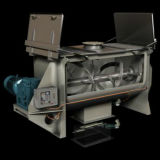 Dry Powderのための水平のDouble Ribbon Blender Machine